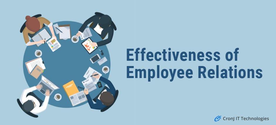 Effectiveness Of Employee Relations
