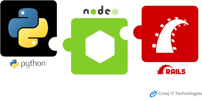 comparison of node js with python and ruby
