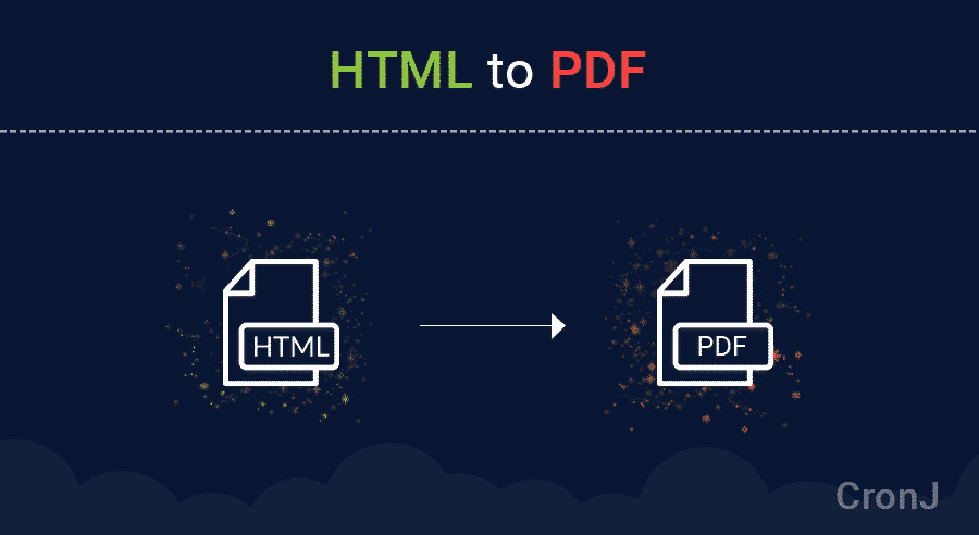 How to Export, Generate HTML/CSS To PDF Using Javascript API