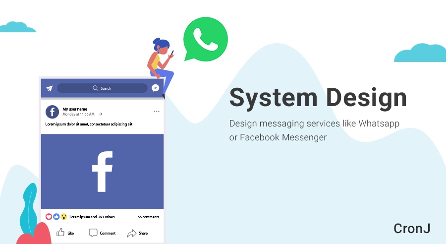 How to Develop Chat System Design for Facebook Messenger