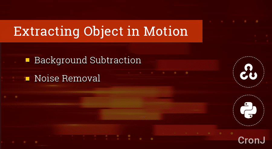 Video Analytics - Object Extraction by background subtraction
