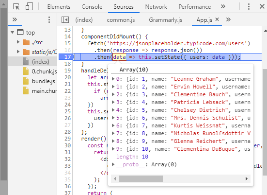 Inspecting the values present in the variables Learn How to use Breakpoints (For Beginners) in JavaScript Debugging