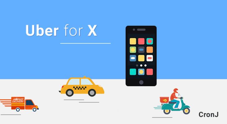Uber for X, Uber clone app, Uber application,