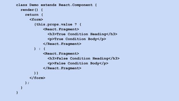 class demo extends react component