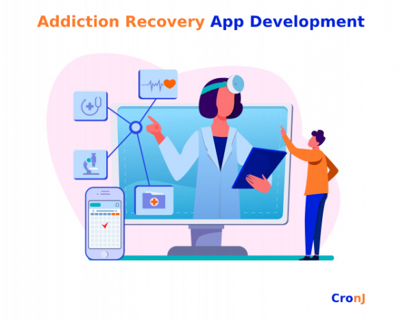 Addiction recovery app development
