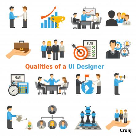 qyalities of UI Designer