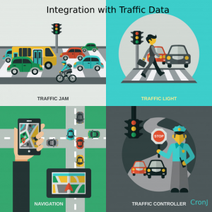 integration with the traffic