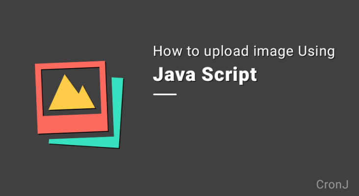 How to upload image to nodejs and expressjs server using javascript